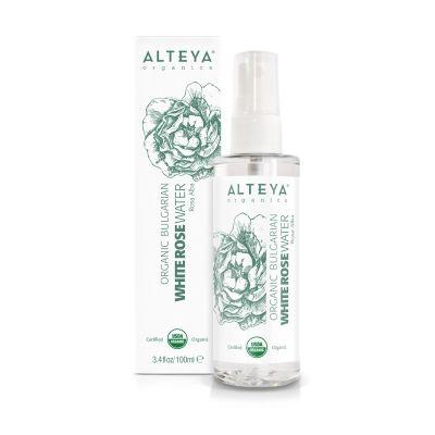 Ekologiczny hydrolat z białej róży (Alba) Spray 100 ml, 250 ml
