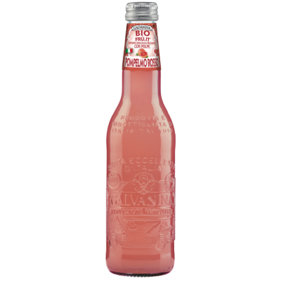 Lemoniada BIO - czerwony grejpfrut 355 ml
