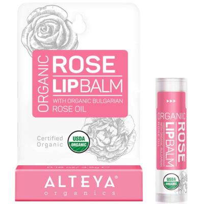 Ekologiczny balsam do ust - Róża