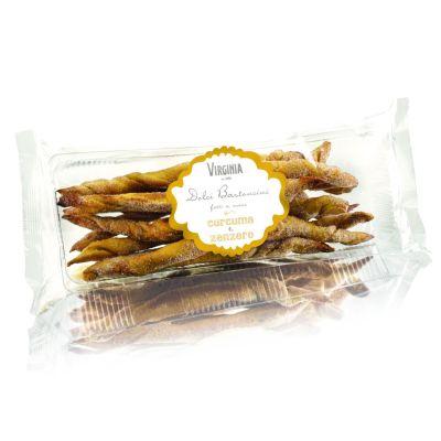 Słodkie Paluszki Kurkuma i Imbir 150 g