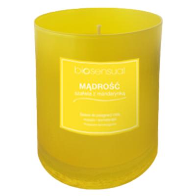 Świeca zapachowa Biosensual - Mądrość 170 g
