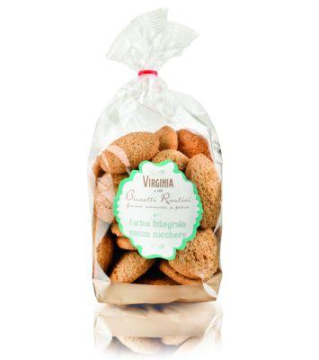 Biszkopty Rustykalne z Mąki Pełnoziarnistej bez Dodatku Cukru 300 g