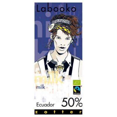 Czekolada Zotter Labooko Ekwador 50% kakao 70 g