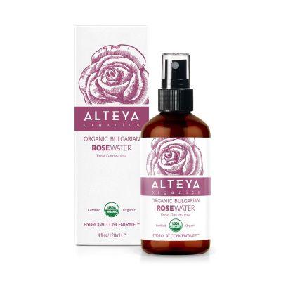 Ekologiczny hydrolat z róży damasceńskiej 120 ml Spray