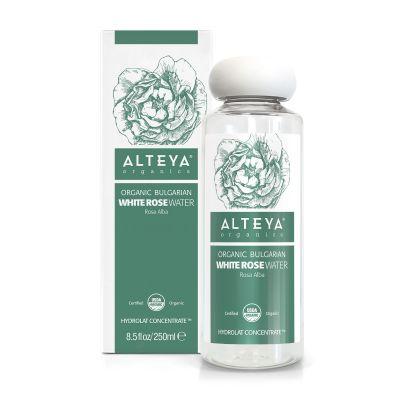 Ekologiczny hydrolat z białej róży (Alba) Drop