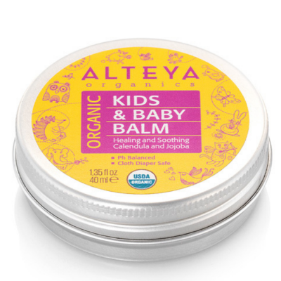 Balsam bio do delikatnej skóry, Organic Kids & Baby Balm