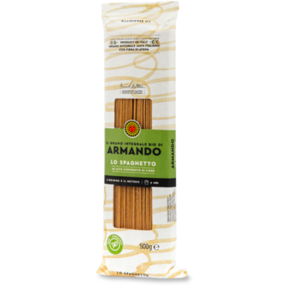 Włoski makaron pełnoziarnisty - BIO Spaghetti 500 g