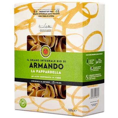 Włoski makaron pełnoziarnisty - BIO Pappardelle 500 g