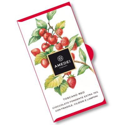 Czekolada ciemna 70% Amedei - Toscano Red 50 g