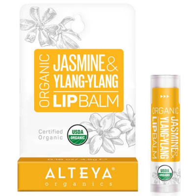 Ekologiczny balsam do ust Jaśmin i Ylang-Ylang