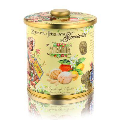 Miękkie Ciasteczka Amaretti o Cytrusowym Aromacie
