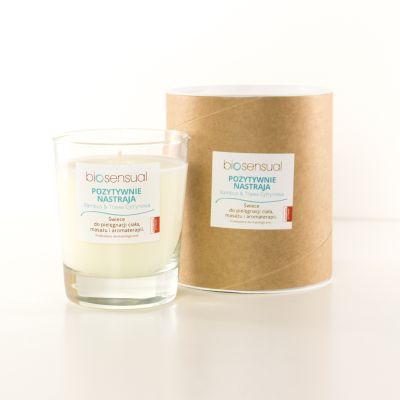 Świeca zapachowa Bamboo & Trawa Cytrynowa