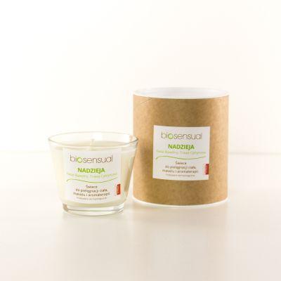 Świeca zapachowa Biosensual Nadzieja - 100 ml,  200 ml