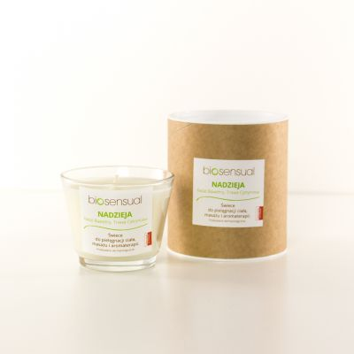 Świeca zapachowa Biosensual Nadzieja - 100 ml,  200 ml-100 ml