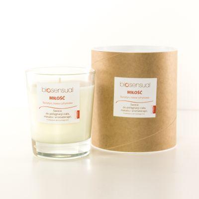 Świeca zapachowa Bursztyn & Trawa Cytrynowa