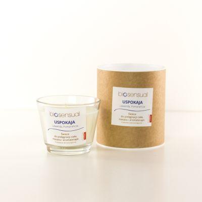 Świeca zapachowa Biosensual Uspokaja - 100 ml, 200 ml