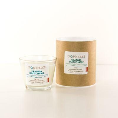Świeca zapachowa Biosensual Ułatwia Oddychanie - 100 ml, 200 ml