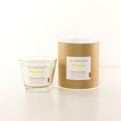 Świeca zapachowa Biosensual Relaksuje - 100 ml, 200 ml