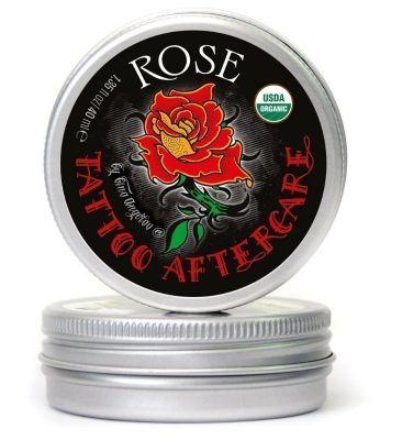 Ekologiczna maść do pielęgnacji tatuażu - Rose -40 ml